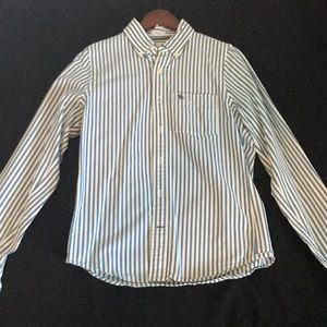 Abercrombie & Fitch Oxford Stripe Button Up